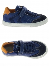 chaussures basses little david tommy bleu