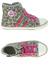 chaussures en toile little david emma-1 rose