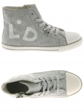 chaussures en toile little david sjiek 1 gris