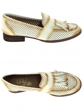 mocassins little la suite 1731 perfore blanc