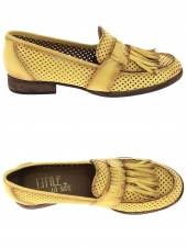 mocassins little la suite 1731 perfore jaune