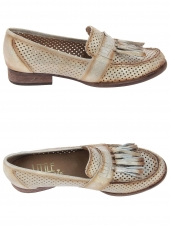 mocassins little la suite 1731 perfore or/bronze