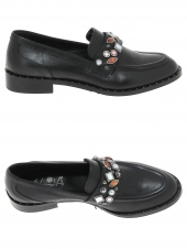 chaussures plates maja ad405 noir