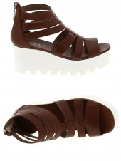 nu-pieds style casual mally 4759 marron