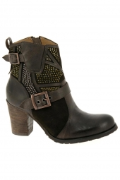 bottines fashion mam'zelle fanny marron