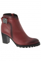 bottines fashion mam'zelle lina rouge