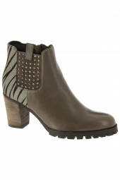 bottines fashion mam'zelle ludo taupe