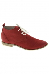bottines d'ete marco tozzi 25104-28 rouge