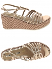 nu-pieds style ville maria mare 66787 or/bronze