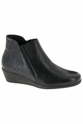bottines casual mephisto gabria cigale noir
