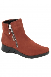 bottines casual mephisto maroussia orange