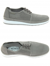 chaussures de style casual mephisto harry gris