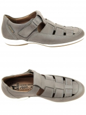 chaussures de style casual mephisto rafael gris