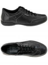 chaussures de style casual mephisto ricario steve noir