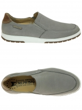 chaussures homme mephisto leo sportbuck gris
