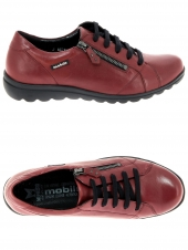 chaussures plates mephisto camilia g rouge