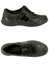 chaussures plates mephisto laser fashion gris