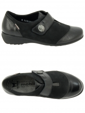 chaussures plates mephisto saga imperial h noir