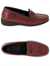 mocassins mephisto genia cigale rouge