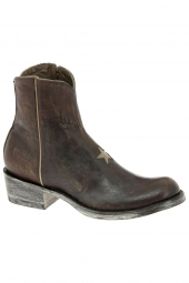 boots de style western mexicana bl2372-3-bfl marron