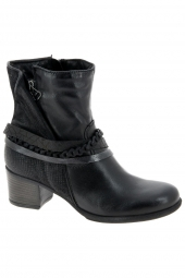 bottines de ville mjus 640237-201 noir