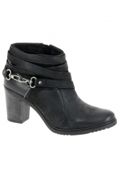 bottines fashion mjus 121224-201 noir