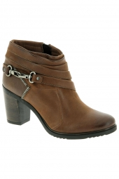 bottines fashion mjus 121224-201 marron
