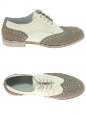 chaussures plates momenti 6208 beige