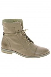 bottines d'ete monshoe 645.41.094 taupe