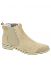 bottines d'ete monshoe 665.41.144 taupe