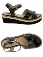 nu-pieds style casual mtng 55409 noir