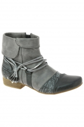 bottines d'ete mustang 1176502 gris
