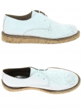 chaussures plates myma 2235my blanc