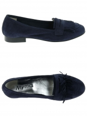 mocassins myma 1520my bleu