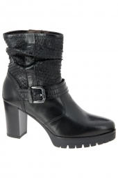 bottines fashion nero giardini 13794-100 noir