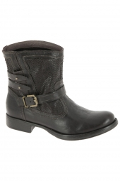 bottines fashion nero giardini 16000 marron
