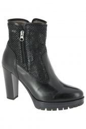 bottines fashion nero giardini 16423 noir