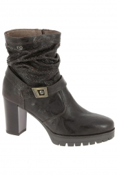 bottines fashion nero giardini 16433 marron