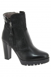 bottines fashion nero giardini 19944 noir