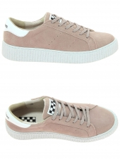 baskets mode no name picadilly sneaker rose