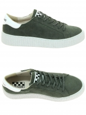 baskets mode no name picadilly sneaker vert