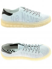 baskets mode no name picadilly soft blanc