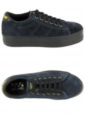 baskets mode no name plato sneaker bleu