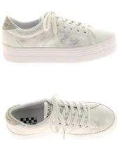 baskets mode no name plato sneaker argent