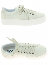 baskets mode no name plato sneaker blanc