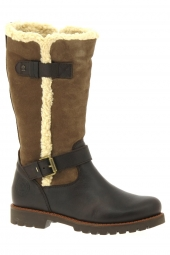 bottes fourrees panama jack ferggy b1 marron