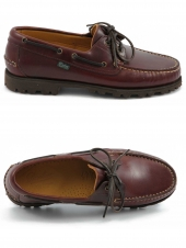 chaussures bateaux paraboot malo america marron