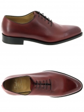 chaussures de style casual paraboot harmonie rouge