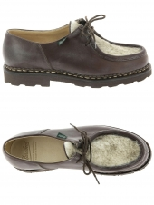 chaussures de style casual paraboot michael marron