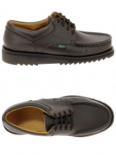chaussures de style casual paraboot thiers marron